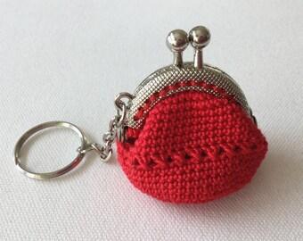 Key chain: frame purses, mini purse