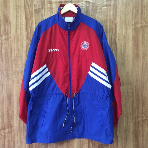 adidas fc bayern munich windbreaker coach by hypevintageoutlet. Black Bedroom Furniture Sets. Home Design Ideas