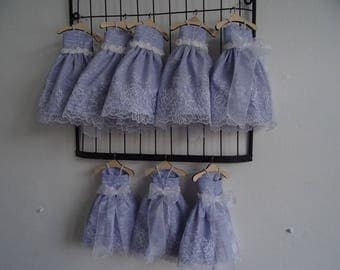 LITTLE dress purple lavender sachet