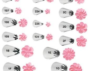 Decorating TIps - Drop Flower