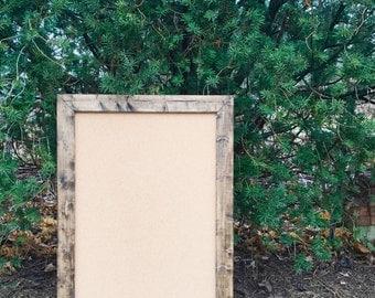 Rustic Cork Board, Framed Cork Board, Corkboard, Large Corkboard, Wood Corkboard, Picture Corkboard, Bulletin Board, Rustic Picture Board