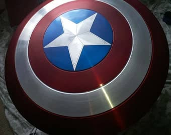Captain America Shield~1:1 scale prop replica~Marvel Avengers