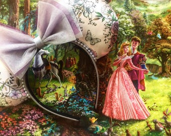 Briar Rose, Sleeping Beauty, Mouse Ears, Disney Ears