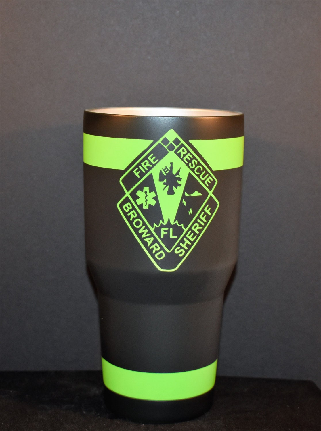 Recycled bunker gear bags - Custom Firefighter Yeti Bunker Gear Ozark Bunker Gear Yeti Turnout Gear Cup Thin Red Line Yeti