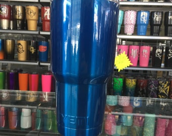 ROYALTON BLUE powdercoated yeti 30oz