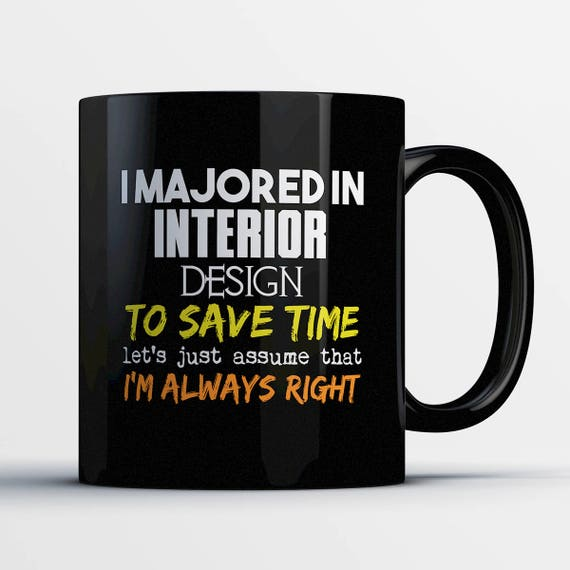 Interior Design Coffee Mug Student Gift
