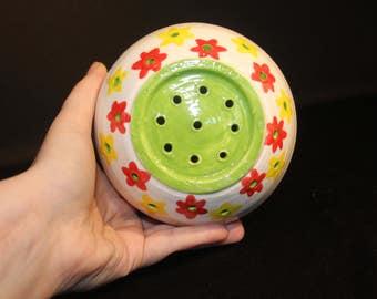 Hand made Ceramic Strainer