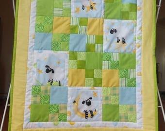 Lewe the Sheep Baby Blanket/Playmat