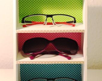 "Eyeglass shelf storage ""Dots"""