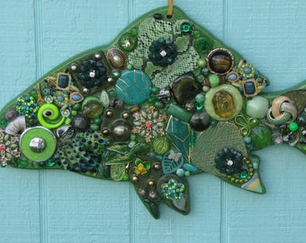 Green Tropical Fish #0641
