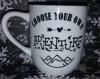Choose Your Own Adventure Coffee Mug