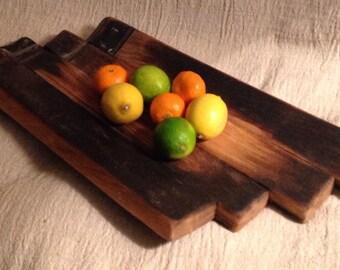 Large Whisky Barrel Stave Platter  / Bowl