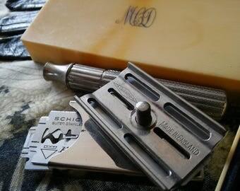 vintage shaving kit.