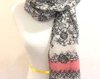 Fashion Scarf Women Scarf Boho Scarf Bohemian Scarf Gift For Hers Fashion Accessories Mothers Day's Gift Christmas Gifts