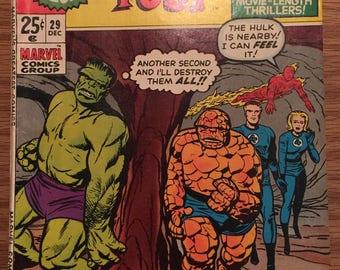 Marvel's Greatest Comics Featuring Fantastic Four 29