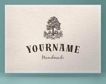 Premade Logo Design, Tree Logo, Nature Logo, Oak Logo, photographer logo, watermark logo