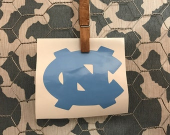 HALF OFF with coupon!  UNC Chapel Hill Tar Heel Decal