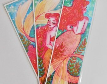 Mermaid Bookmarks! (Set of 3)