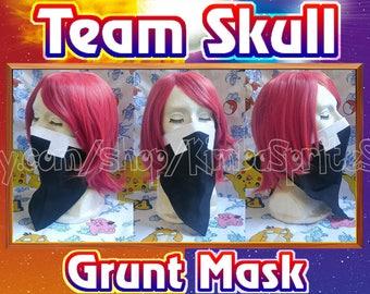 Pokemon Team Skull Grunt Cosplay Mask