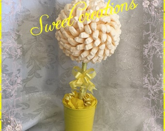 Foam bananas candy sweet tree