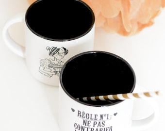 "Mug & ""The bride angry"" pouch!"