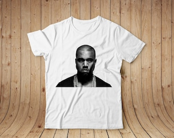 Kanye West white t-shirt, cotton, all sizes