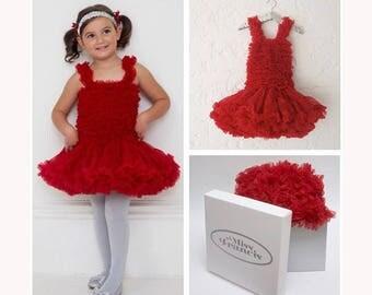 Red Tutu Dress Pettidress for Babies & Girls