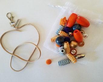 Example idea, Orange and Blue, but all are custom made