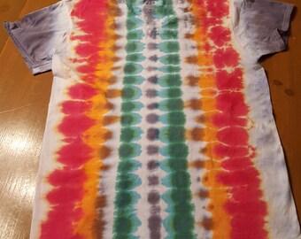 Adult Medium Skeleton Tie Dye