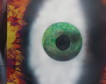 Spray painted Poster eYeBall