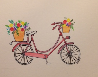 Lovely Bicycle Print