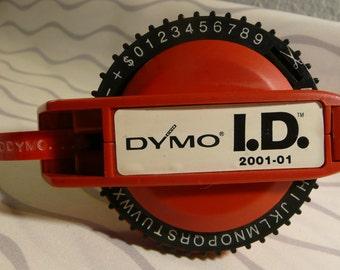 Label Maker by DYMO Vintage I.D. 2001-01