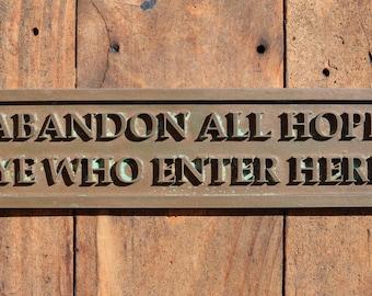 Funny door sign | Etsy