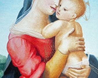 Madonna and child of Raphael