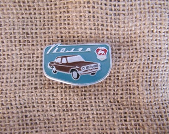 VOLGA GAZ collectible pin car badge soviet cars collector gifts vintage pins USSR collectible badge gift soviet pins soviet pin enamel pins