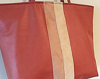 "The ""new"" patchwork tote"