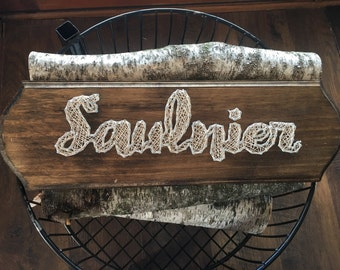Made to order- Name sign