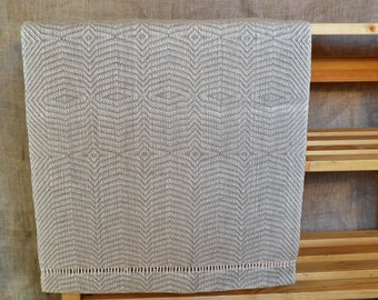 Handwoven table runner Linen tablecloth Linen table runner