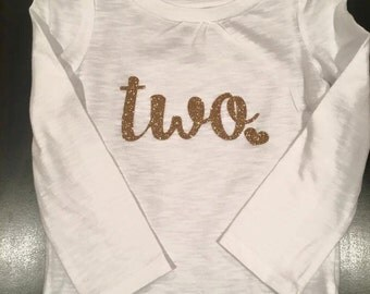 Birthday Girl | Two shirt