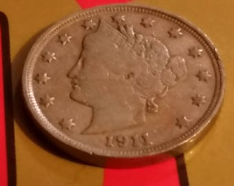 1911 Liberty Head nickel