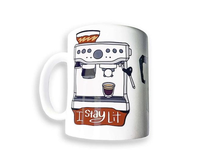 I Stay Lit Mug