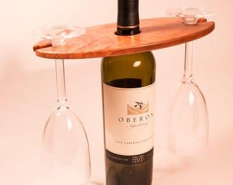 Cherry Wine Display