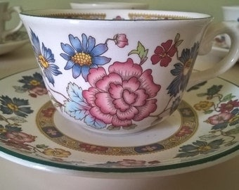 Franciscan Cup and Saucer Vintage Porcelain Cups And Saucers