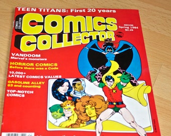 Comics Collector Spring 1984 Teen Titans: First 20 Years