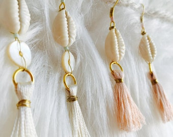 TASSELS Colors earrings