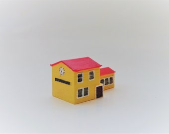 Handpainted 3D printed model house