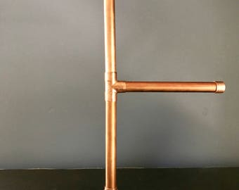 Copper Necklace Stand