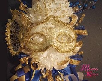 The Masquerade Homecoming Mum by Mums and Kisses