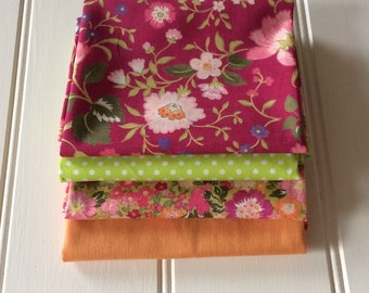 Fizzy 4 Piece Fat Quarter Bundle