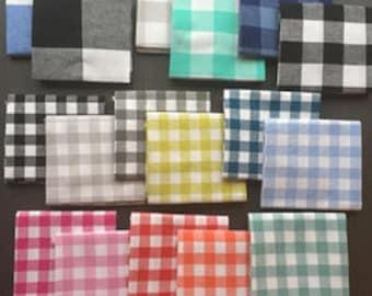 Checkers Fat Quarter Bundle by Cotton & Steel